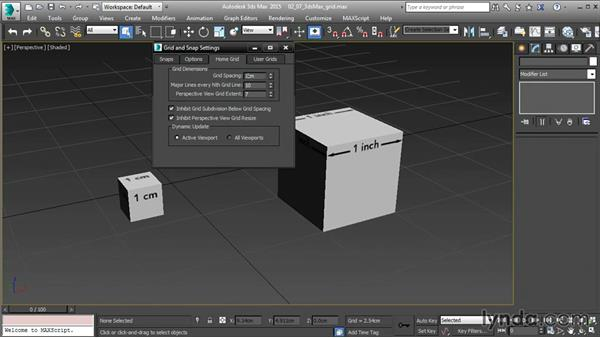 Setting 3ds Max Home Grid settings: 3ds Max and Maya Integration