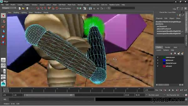 Correcting surface normals: 3ds Max and Maya Integration
