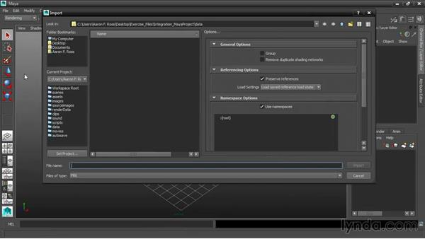 Embedding media in FBX: 3ds Max and Maya Integration