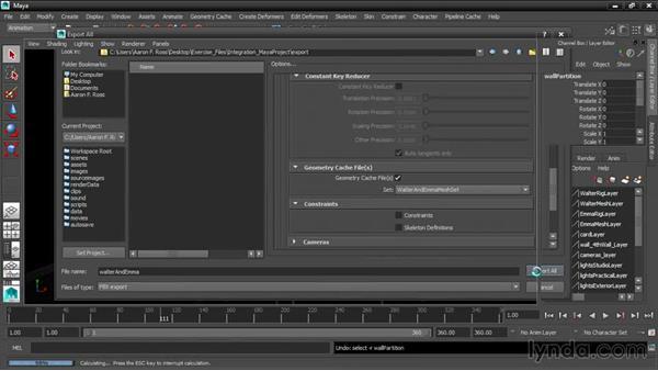 Exporting from Maya to FBX: 3ds Max and Maya Integration