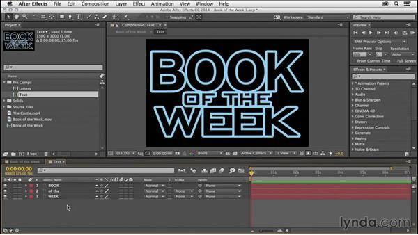 Set the poster frame for the comp: After Effects Tips and Techniques: Shortcuts, Navigation, and Project Management