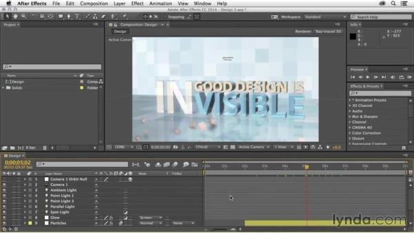 Move between visible items: After Effects Tips and Techniques: Shortcuts, Navigation, and Project Management