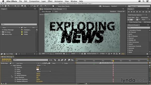 Expose properties in the Timeline: After Effects Tips and Techniques: Shortcuts, Navigation, and Project Management