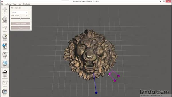 Performing repairs with Inspector: 3D Scanning with a Camera