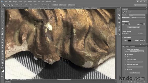 Touching up UV maps: 3D Scanning with a Camera