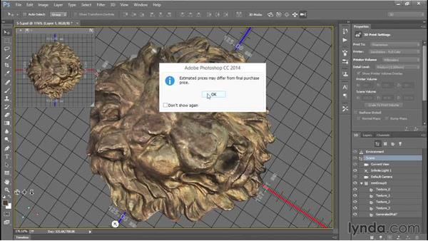 3D printing with Photoshop: 3D Scanning with a Camera
