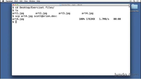 Transferring files with secure copy (SCP): Understanding SSH