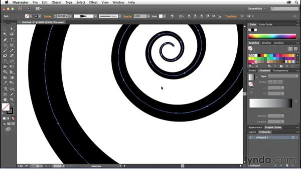 Using the width tool in Adobe Illustrator: Creative Quick Tips