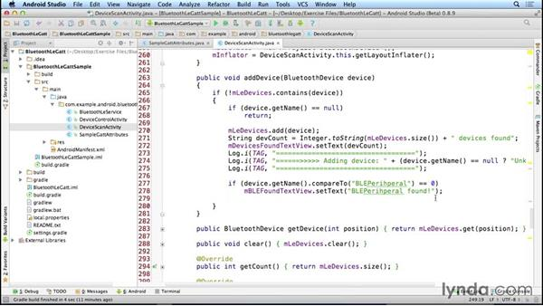 Scanning for peripherals: Programming the Internet of Things with Android