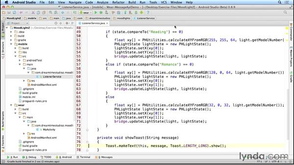 Coding MoodLightZ: Programming the Internet of Things with Android
