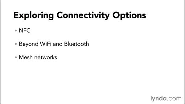 Exploring connectivity options: Programming the Internet of Things with Android