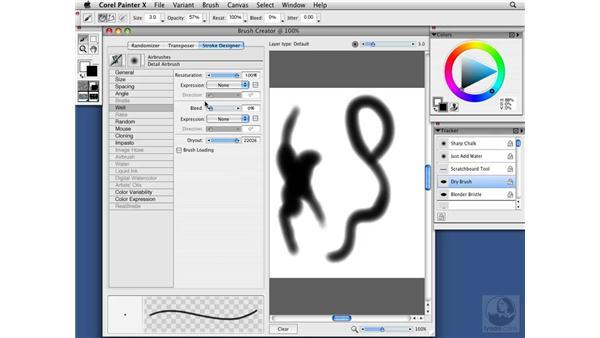 The Stroke Designer: Painter X Essential Training
