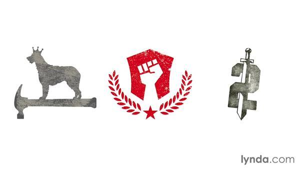 Degeneration: LogoLounge: Handmade Aesthetic in Logo Design