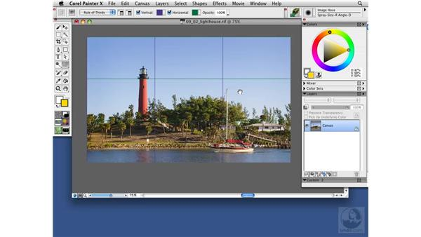 The Layout Grid composition tool: Painter X Essential Training