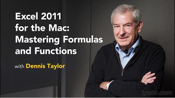 Goodbye: Excel 2011 for the Mac: Mastering Formulas and Functions