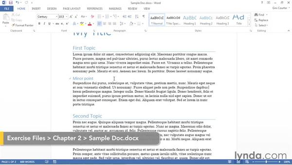 Applying a theme from an existing document: Using Office 2013 Themes and Templates for Branding