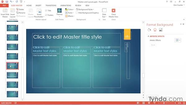 Removing a slide layout: Using Office 2013 Themes and Templates for Branding