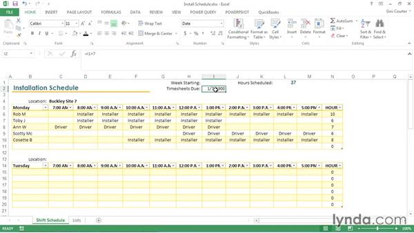 Creating Templates In Excel