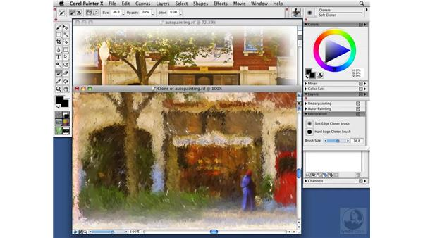 The Restoration palette: Painter X Essential Training