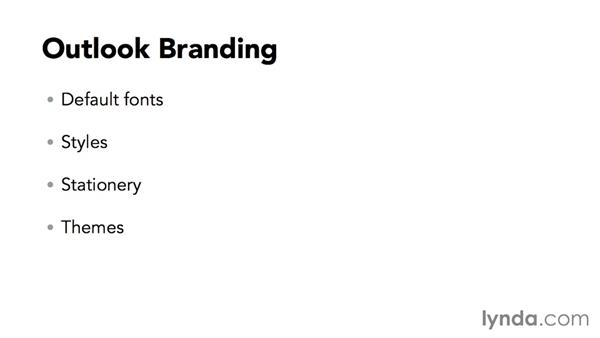 Branding in Outlook: Using Office 2013 Themes and Templates for Branding