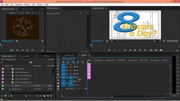Designing for center-cut HD broadcasts in Premiere Pro: Motion Graphics for Video Editors: Terms and Technology