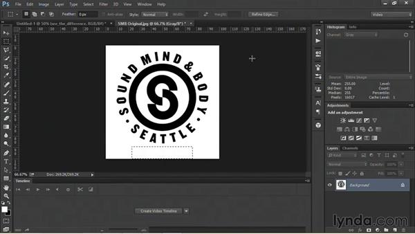 Sizing a logo for a video project: Motion Graphics for Video Editors: Terms and Technology