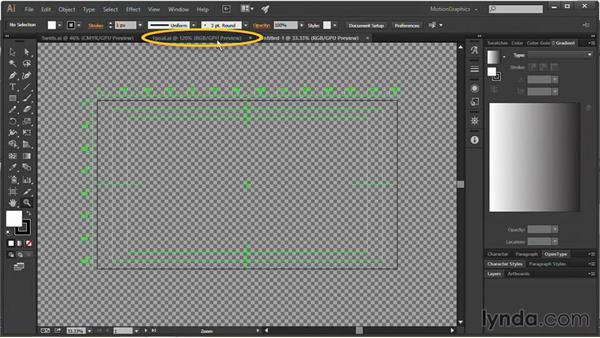 Using video templates in Illustrator: Motion Graphics for Video Editors: Terms and Technology