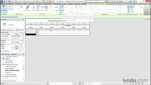 Finalizing your template: Creating Revit Templates: Content