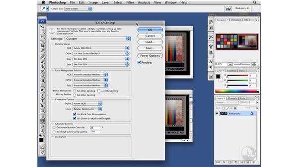 Color management compatibility: Painter X Essential Training