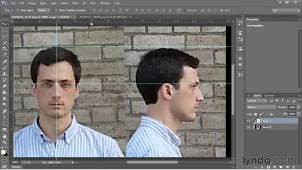Preparing photos for use as references: Sculpting Portraits in ZBrush