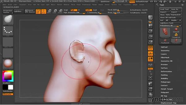 Taking a second look at proportions: Sculpting Portraits in ZBrush