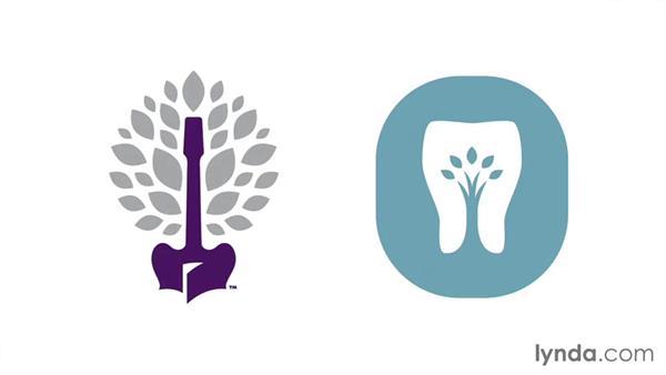 Tree styles: LogoLounge: Symbolism in Nature