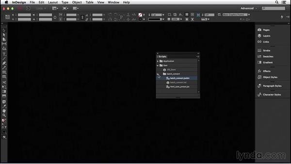 170 Batch convert InDesign files to IDML and other formats: InDesign Secrets