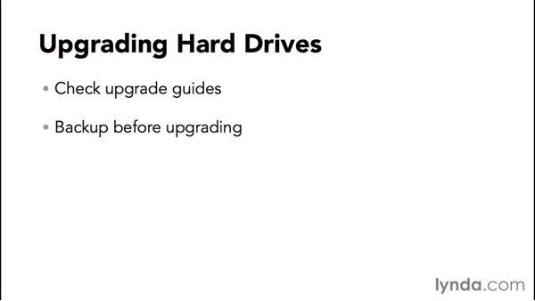 Upgrading hardware to improve performance: Speeding Up and Maintaining Your Mac