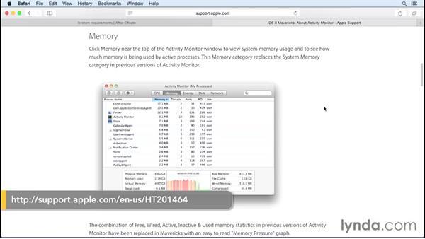 Identifying tasks that take up RAM: Speeding Up and Maintaining Your Mac