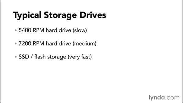 Determining if your hard drive is fast enough for your work: Speeding Up and Maintaining Your Mac