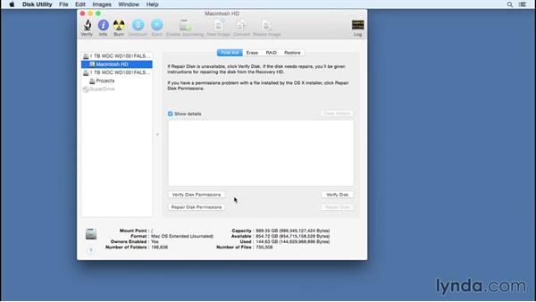 Addressing hard-drive issues: Speeding Up and Maintaining Your Mac