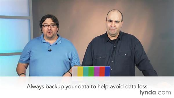Mounting a disk and recovering files: Video Gear Weekly