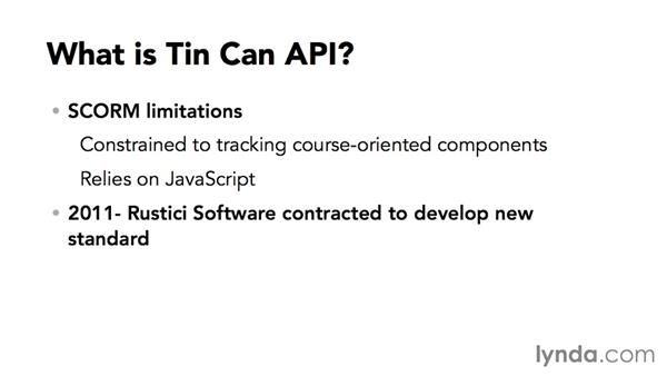 Defining Tin Can and Experience API, or xAPI: Up and Running with SCORM and Tin Can API