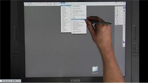 Lesson 1: The workspace: Beyond Skin: Going Deeper with Photoshop CS3