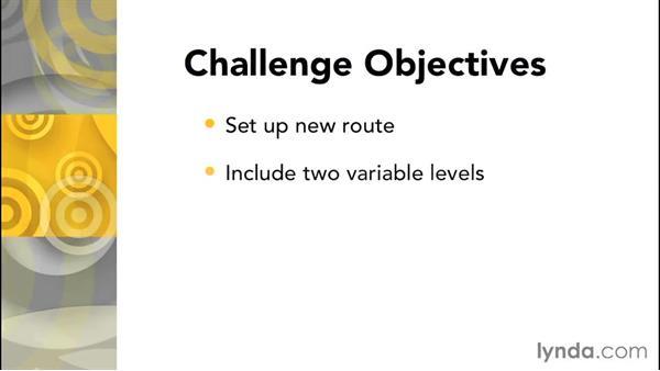 Challenge: Routing: Laravel 4 Essential Training