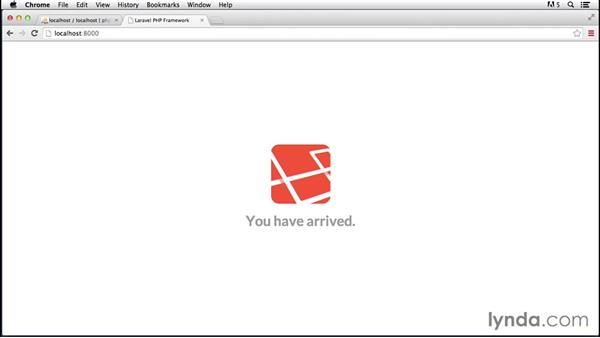 Setting up a new app: Laravel 4 Essential Training