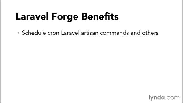 Understanding Forge: Laravel 4 Essential Training
