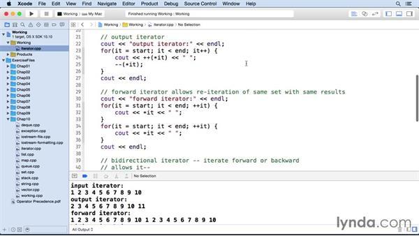 Iterators: C++ Essential Training