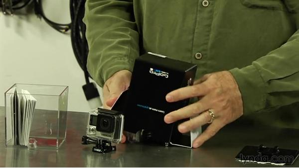 Unboxing the GoPro HERO4 Black: Shooting with the GoPro HERO: Fundamentals
