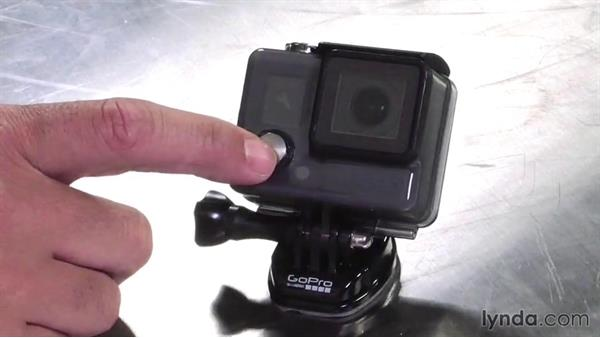 An overview of button controls: GoPro HERO: Shooting with the GoPro HERO: Fundamentals