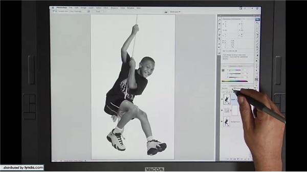 Lesson 10: Channels continued: Beyond Skin: Going Deeper with Photoshop CS3