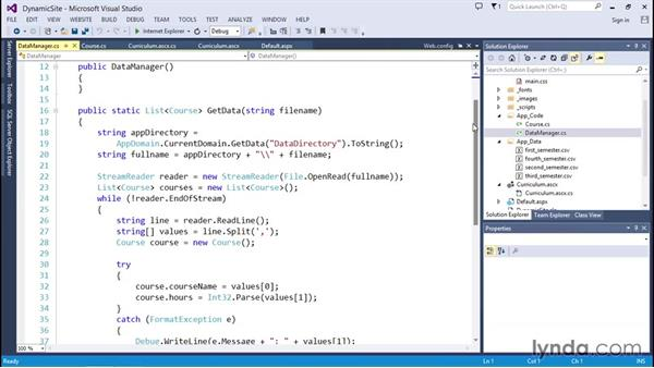 Parsing data from CSV files: Code Clinic: C#