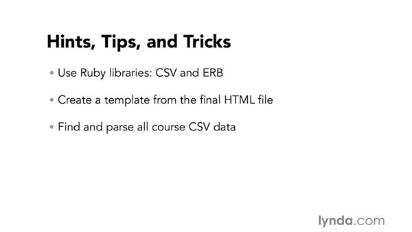 Hints, tips, and tricks: Code Clinic: Ruby