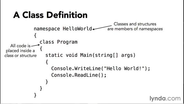 Everything is an object: C# Essential Training